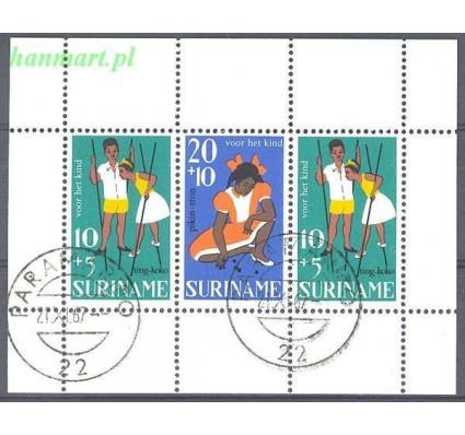 Surinam 1967 Mi bl 7 Stemplowane
