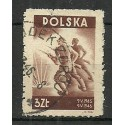 Polska 1946 Mi 438 Fi 405 Stemplowane