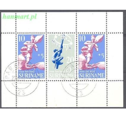 Surinam 1969 Mi bl 9 Stemplowane