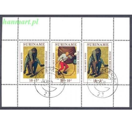 Surinam 1971 Mi bl 11 Stemplowane