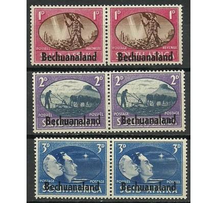 Znaczek Bechuanaland / Beczuana 1945 Mi 112-117 Czyste **