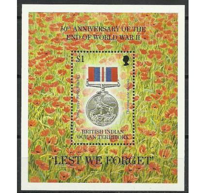 Znaczek Brytyjskie Terytorium Oceanu Indyjskiego 1995 Mi bl 5 Czyste **