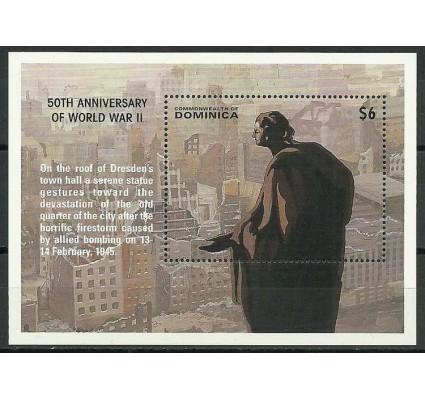 Znaczek Dominika 1995 Mi bl 287 Czyste **
