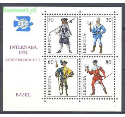 Szwajcaria 1974 Mi bl 22 Czyste **