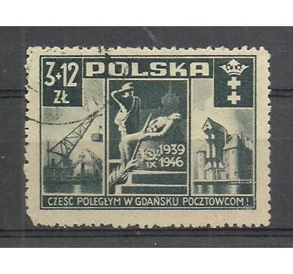 Znaczek Polska 1946 Mi 444 Fi 411 Stemplowane