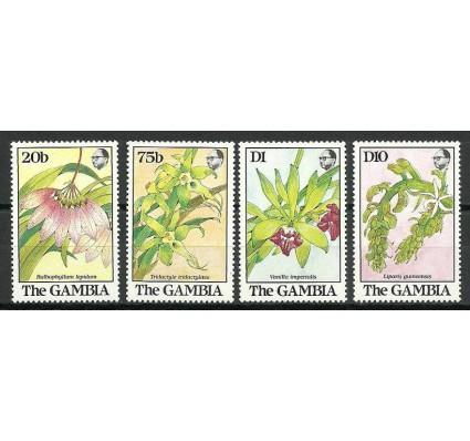 Znaczek Gambia 1989 Mi 955-957+962 Czyste **