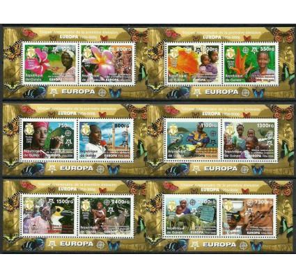 Znaczek Gwinea 2006 Mi bl 915-920 Czyste **