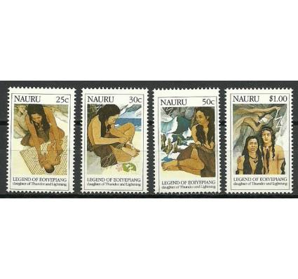 Znaczek Nauru 1990 Mi 371-374 Czyste **