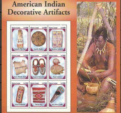 Znaczek Sierra Leone 2004 Mi ark 4675-4683 Czyste **