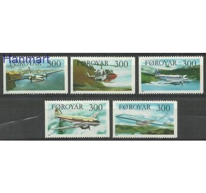 Wyspy Owcze 1985 Mi 125-129 Czyste **