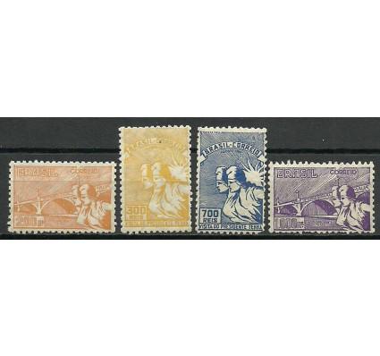 Znaczek Brazylia 1935 Mi 419-422 Z podlepką *