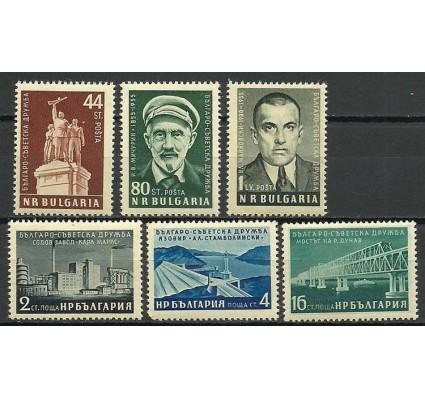 Znaczek Bułgaria 1955 Mi 973-978 Czyste **
