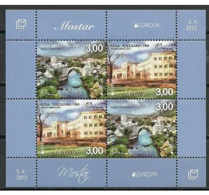 Znaczek Mostar 2012 Mi ark 337-338 Czyste **
