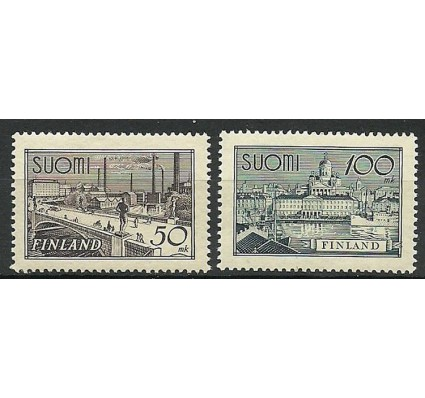 Znaczek Finlandia 1942 Mi 259-260 Czyste **