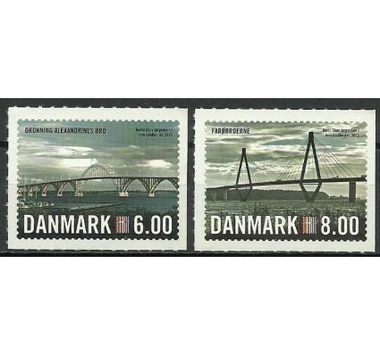 Znaczek Dania 2012 Mi 1689-1690A Czyste **