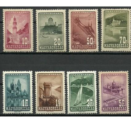 Znaczek Węgry 1947 Mi 963-970 Z podlepką *