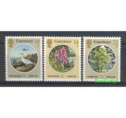 Znaczek Guernsey 1986 Mi 358-360 Czyste **