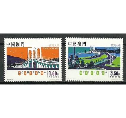 Znaczek Makau 2005 Mi 1379-1380 Czyste **