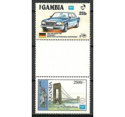 Znaczek Gambia 1986 Mi 626+UGN479 Czyste **