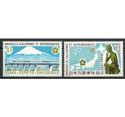 Znaczek Nowa Kaledonia 1970 Mi 492-493 Czyste **