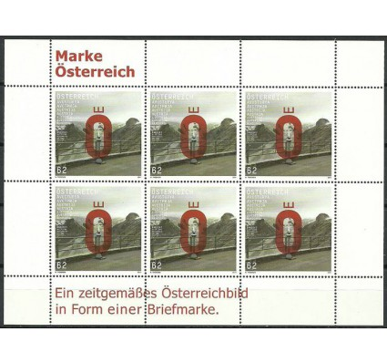 Znaczek Austria 2011 Mi ark 2962 Czyste **