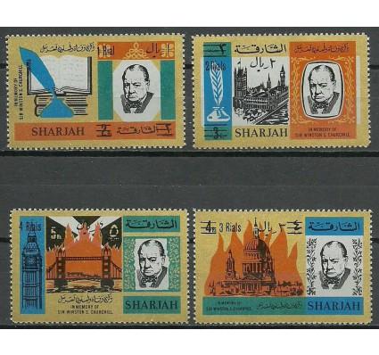 Znaczek Sharjah 1966 Mi 254-257 Czyste **