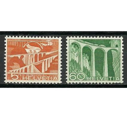 Znaczek Szwajcaria 1949 Mi 530+539 Czyste **
