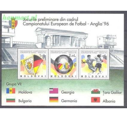 Mołdawia 1994 Mi bl 5 Czyste **
