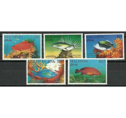 Znaczek Malediwy 1992 Mi 1690+91+94+96+97 Czyste **