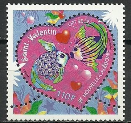 Znaczek Nowa Kaledonia 2012 Mi 1577 Czyste **