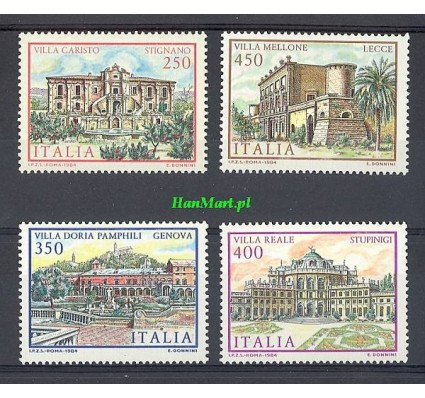 Znaczek Włochy 1984 Mi 1898-1901 Czyste **