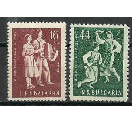 Znaczek Bułgaria 1953 Mi 898-899 Czyste **