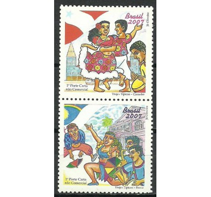 Znaczek Brazylia 2007 Mi 3475-3476 Czyste **