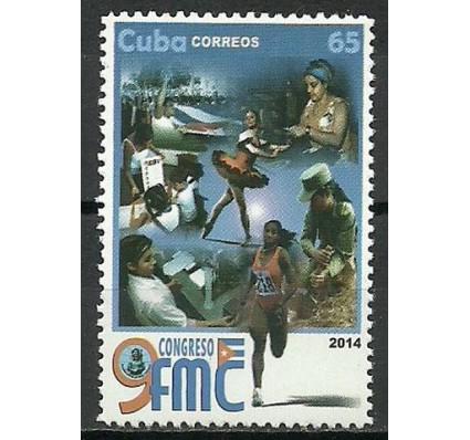 Znaczek Kuba 2014 Mi 5787 Czyste **