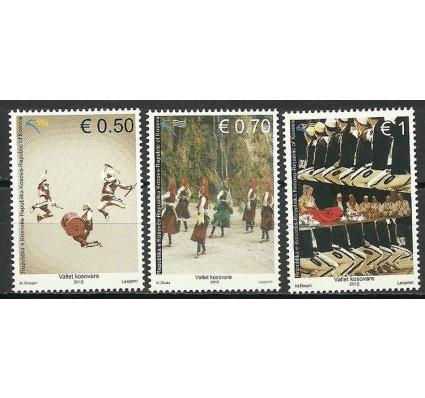 Znaczek Kosowo 2012 Mi 234-236 Czyste **