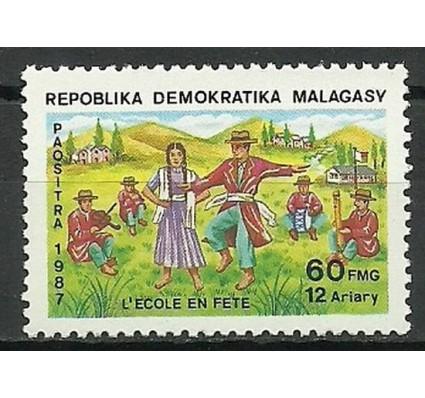 Znaczek Madagaskar 1987 Mi 1096 Czyste **