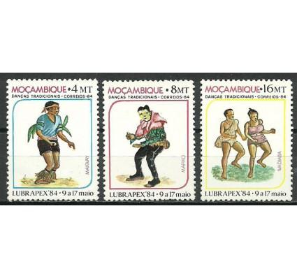 Znaczek Mozambik 1984 Mi 981-983 Czyste **
