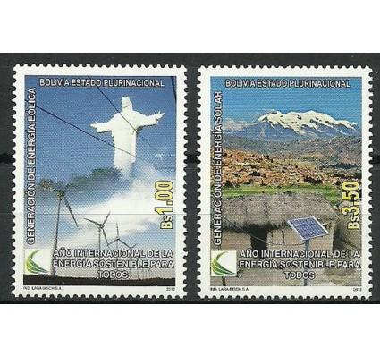 Znaczek Boliwia 2012 Mi 1909-1910 Czyste **