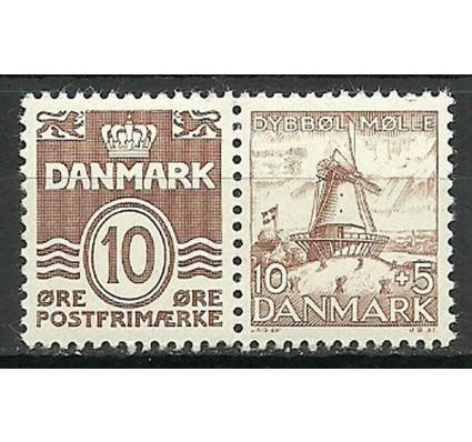 Znaczek Dania 1937 Mi 233I+235 Czyste **