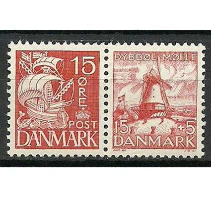 Znaczek Dania 1937 Mi 202III+236 Czyste **