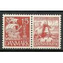 Dania 1937 Mi 202III+236 Czyste **