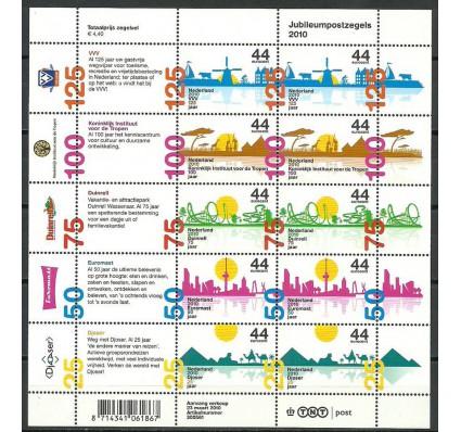 Znaczek Holandia 2010 Mi ark 2737-2741 Czyste **