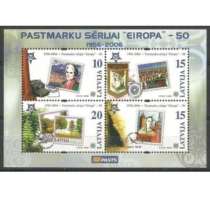 Znaczek Łotwa 2006 Mi bl 21 Czyste **