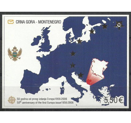Znaczek Czarnogóra 2006 Mi bl 3 Czyste **
