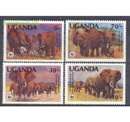 Uganda 1983 Mi 361-364 Czyste **