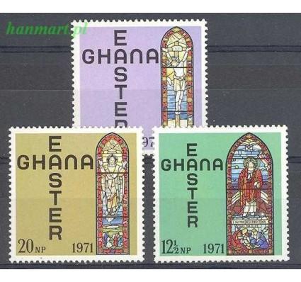 Znaczek Ghana 1971 Mi 428-430 Czyste **