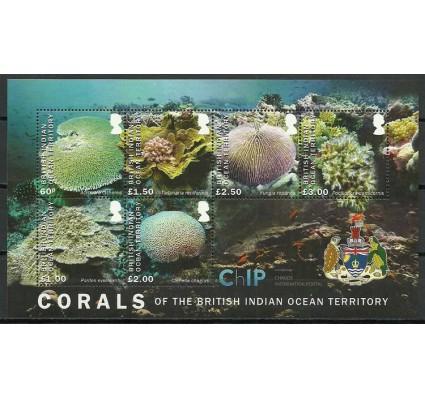 Znaczek Brytyjskie Terytorium Oceanu Indyjskiego 2017 Mi bl 40 Czyste **