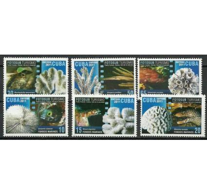 Znaczek Kuba 2011 Mi 5537-5542 Czyste **