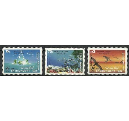 Znaczek Malediwy 1988 Mi 1295-1297 Czyste **