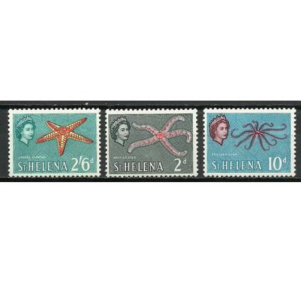 Znaczek Wyspa św. Heleny 1961 Mi 148+153+156 Czyste **
